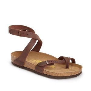 Birkenstock Yara Oiled Leather Sandals